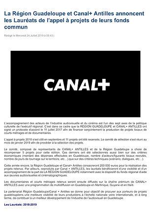 La_Région_Guadeloupe_et_Canal+_Antilles