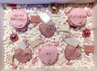 Pink Birthday Treat Box
