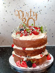 Thirty Victoria Sponge Cake