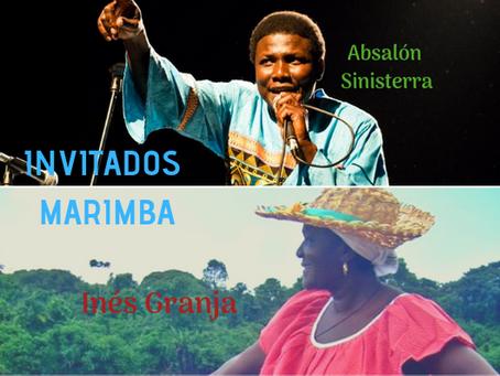 Artistas invitados al concierto de la música de la Marimba