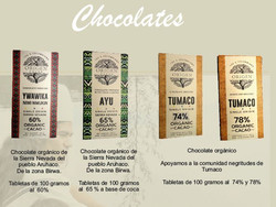 Producto Chocolate