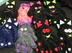 guantes gato
