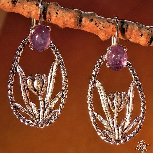 Pasqueflower Earrings