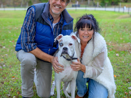 Christina Lee and her Husband Help Save the Lives of Deaf Dogs