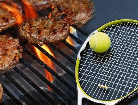 NATO Tennis tournament and BBQ!