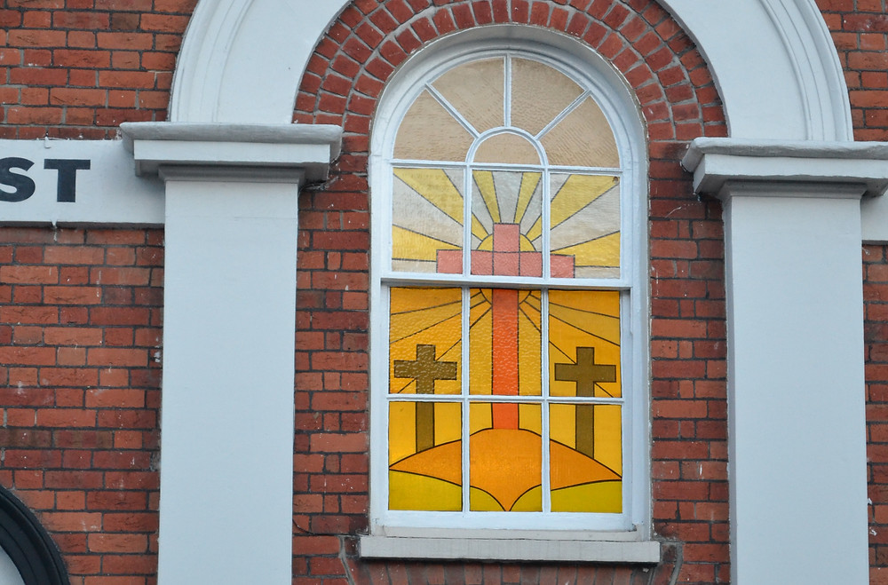 Hartley Wintney Baptist Church Window