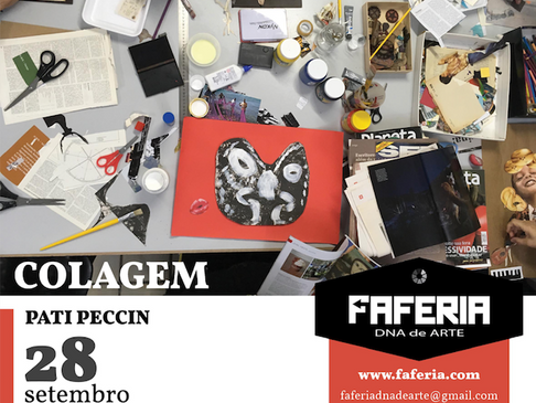 Oficina de Colagem / Faferia /  Setembro 2017