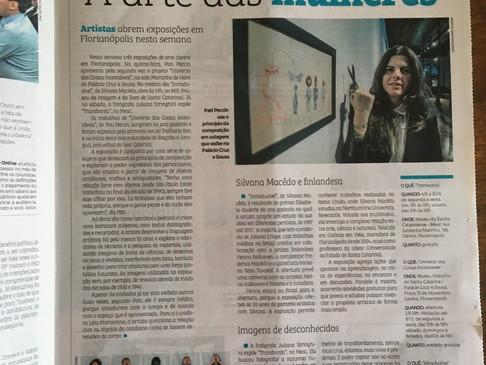 Três artistas abrem exposições em Florianópolis