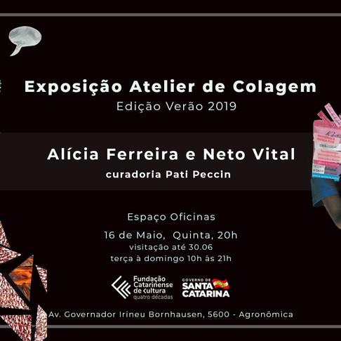 Exposição Atelier de Colagem / Edição Verão 2019