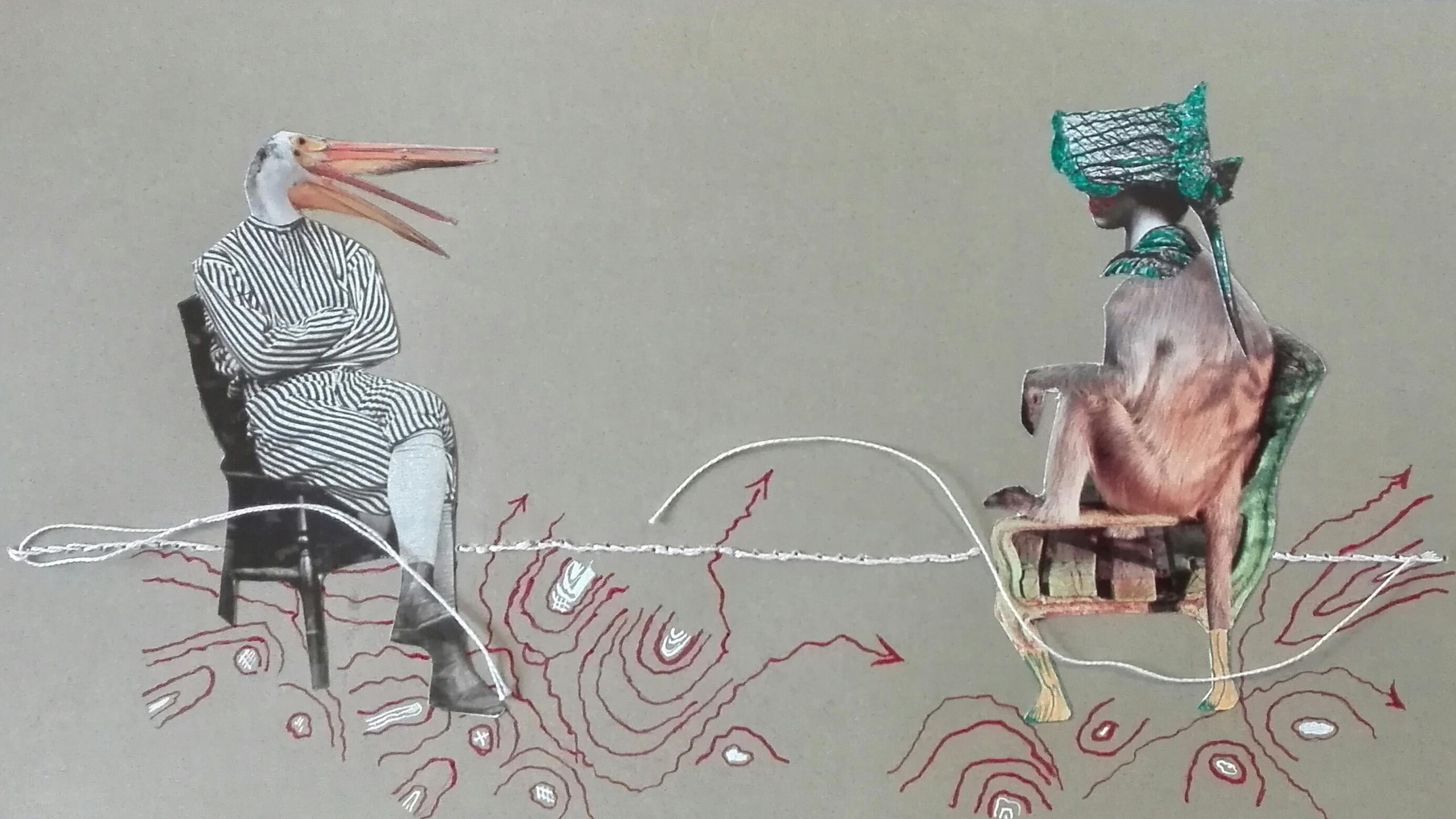Colagem de Alicia Ferreira