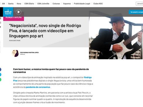 """Negacionista"" na Itapema FM"