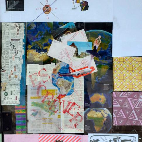 Oficina de Colagem / Feijoada com Arte