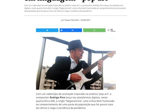 """Negacionista"" no site Jornalistas Livres"
