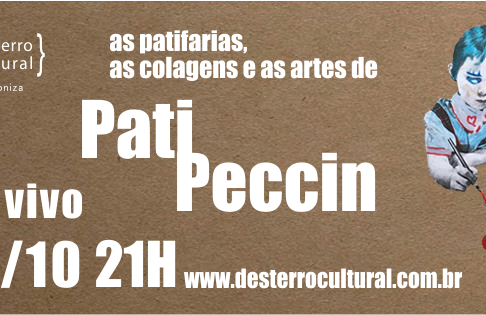 Pati Peccin ao vivo na rádio Desterro Cultural
