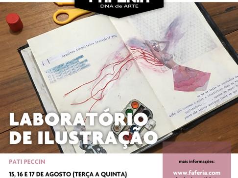 Laboratório de Ilustração / Faferia / Agosto 2017