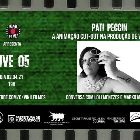 Live Vinil Filmes sobre processos de animação cut-out