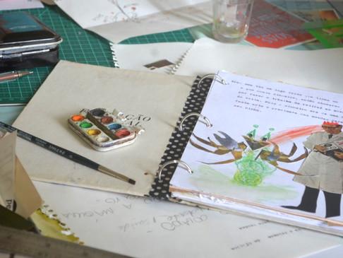 """Oficina """"Caderno de Inspirações"""""""