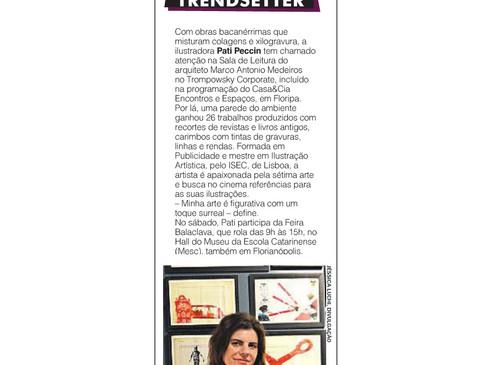 Jornal Diário Catarinense, por Laura Coutinho