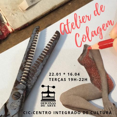 Atelier de Colagem / Fundação Catarinense de Cultura