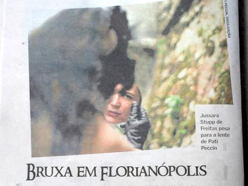"""""""A Bruxa"""" no Diário Catarinense"""