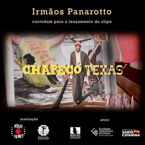 """Lançamento do clip """"Chapecó Texas"""" dos Irmão Panarotto"""