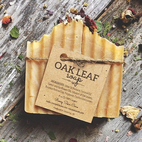 Oak Leaf Artisan Bar Soap