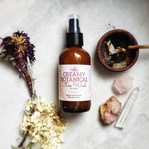 Creamy Botanical Face Wash