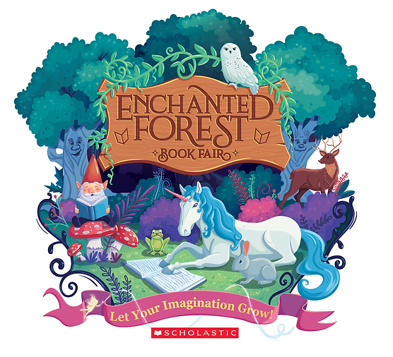 Book Fair 400015_enchanted_forest_clip_a