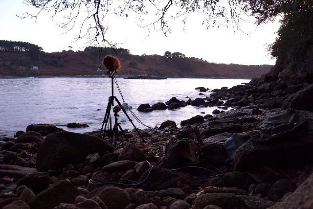 Captation 3D sur la berge du Léguer.JPG