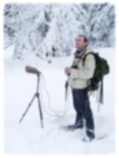 Pascal DHUICQ, preneur de sons de nature