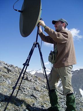 Captation avec système parabolique 2008.