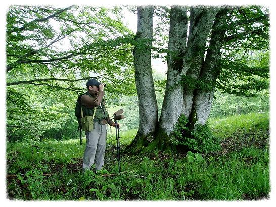 Pascal DHUICQ (MémoTopic), preneur de son nature