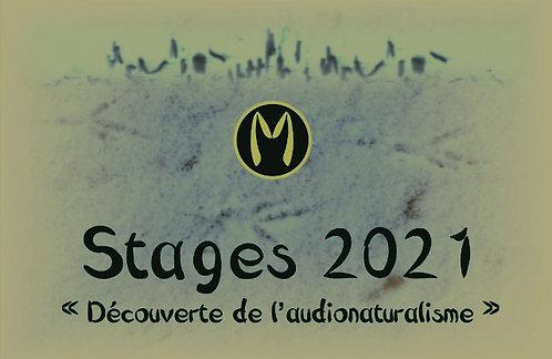 Stage audionaturaliste semaine