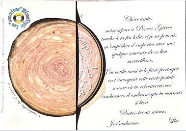Carte postale sonore MémoTopic La Côte de Granit Rose