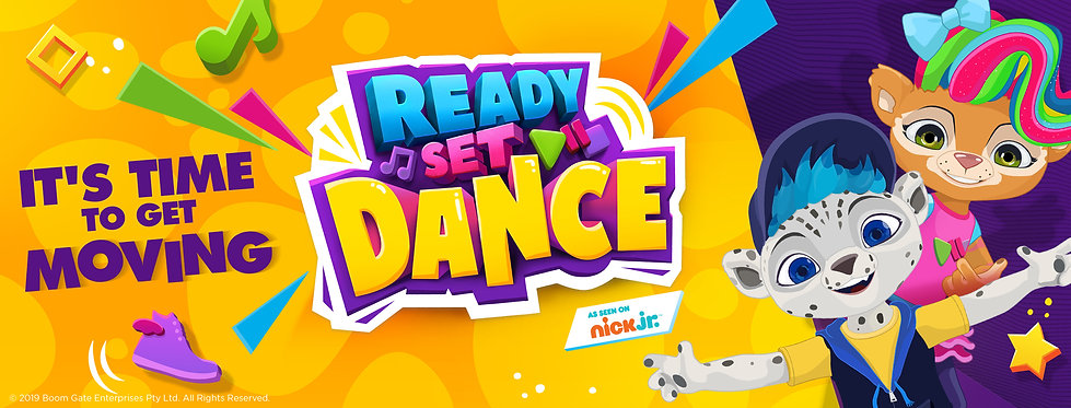 Ready Set Dance Facebook Cover (820x312p