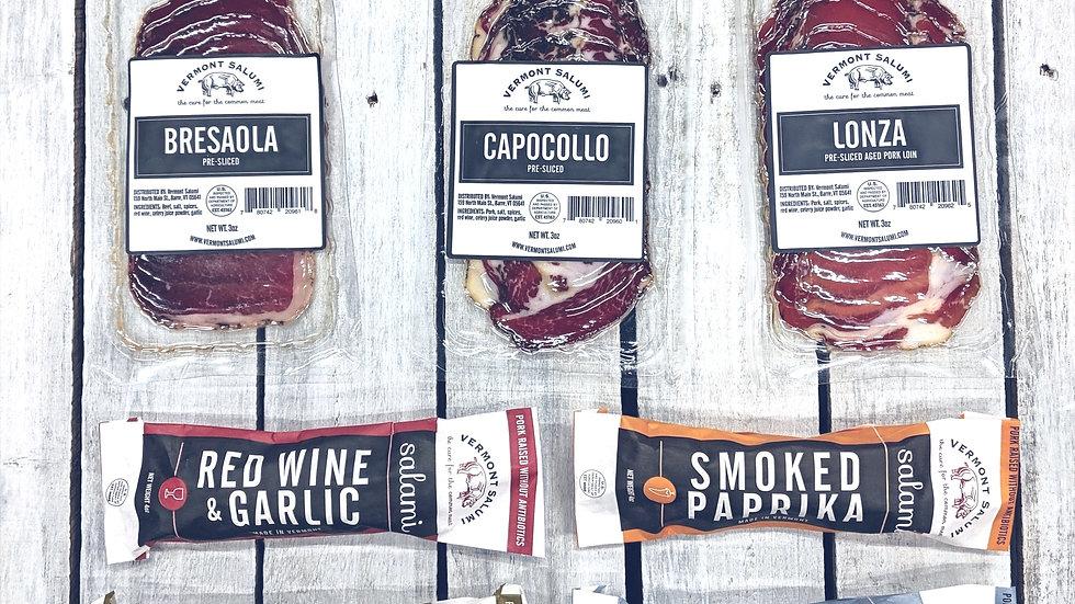 Salumi Sampler - 4 kinds of Salami, Bresaola, Lonza, & Capocollo