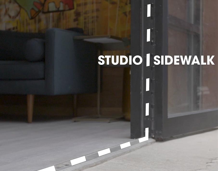 STREET-LEVEL STUDIO