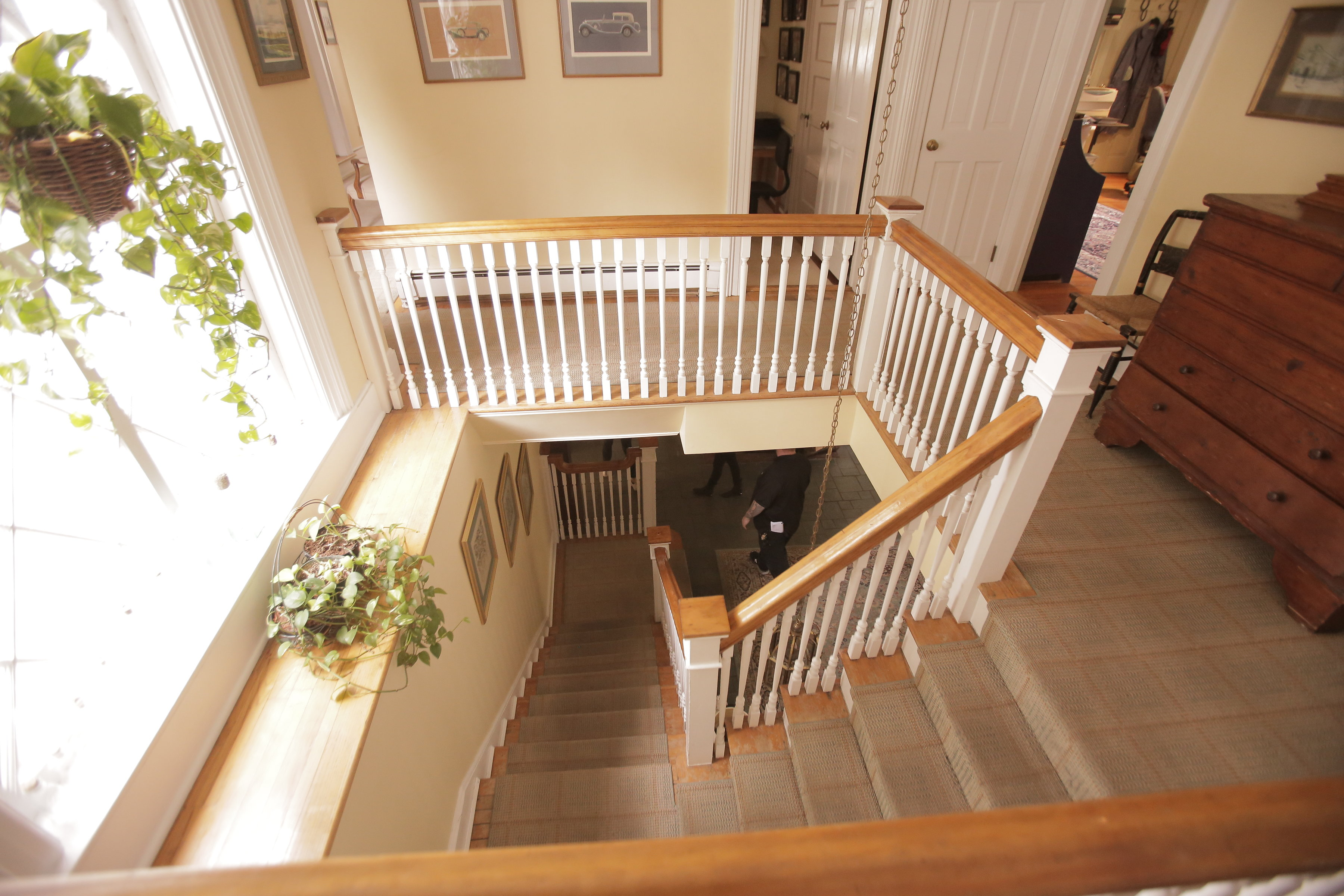 TOP OF STAIRCASE