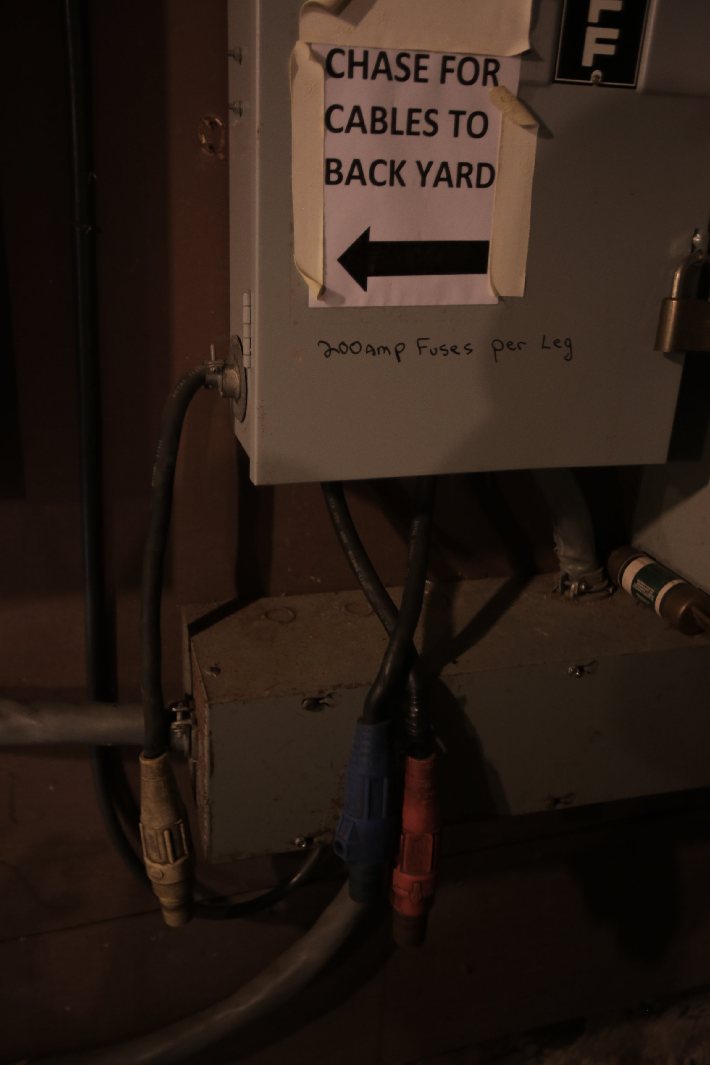 300AMP CAMLOCK BOX