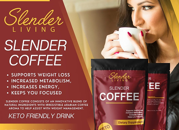 SLENDER COFFEE 100Gr (+-25 Servings)