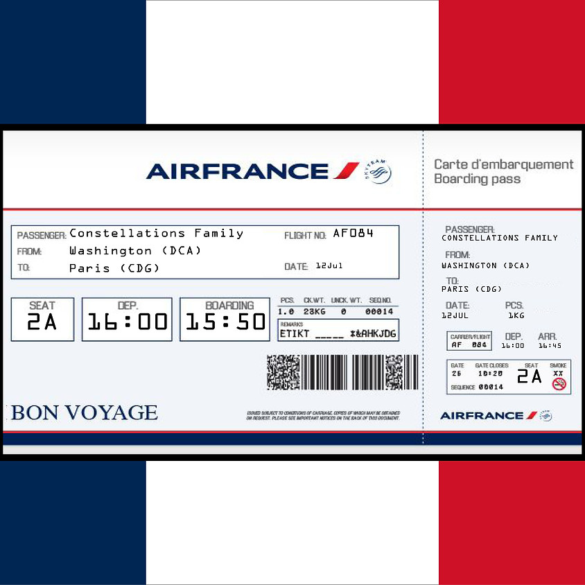 Bon Voyage en France