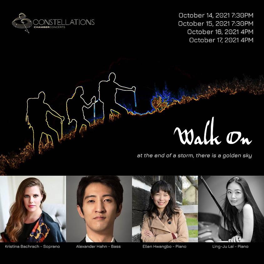 Walk On (Oct. 14)