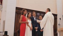 L'échange des consentements lors d'une cérémonie de mariage à l'église
