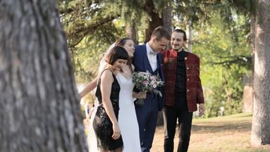 Séance photo lors d'un mariage à Beaussemblant