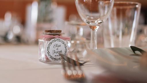 Décoration de table de mariage bohème chic