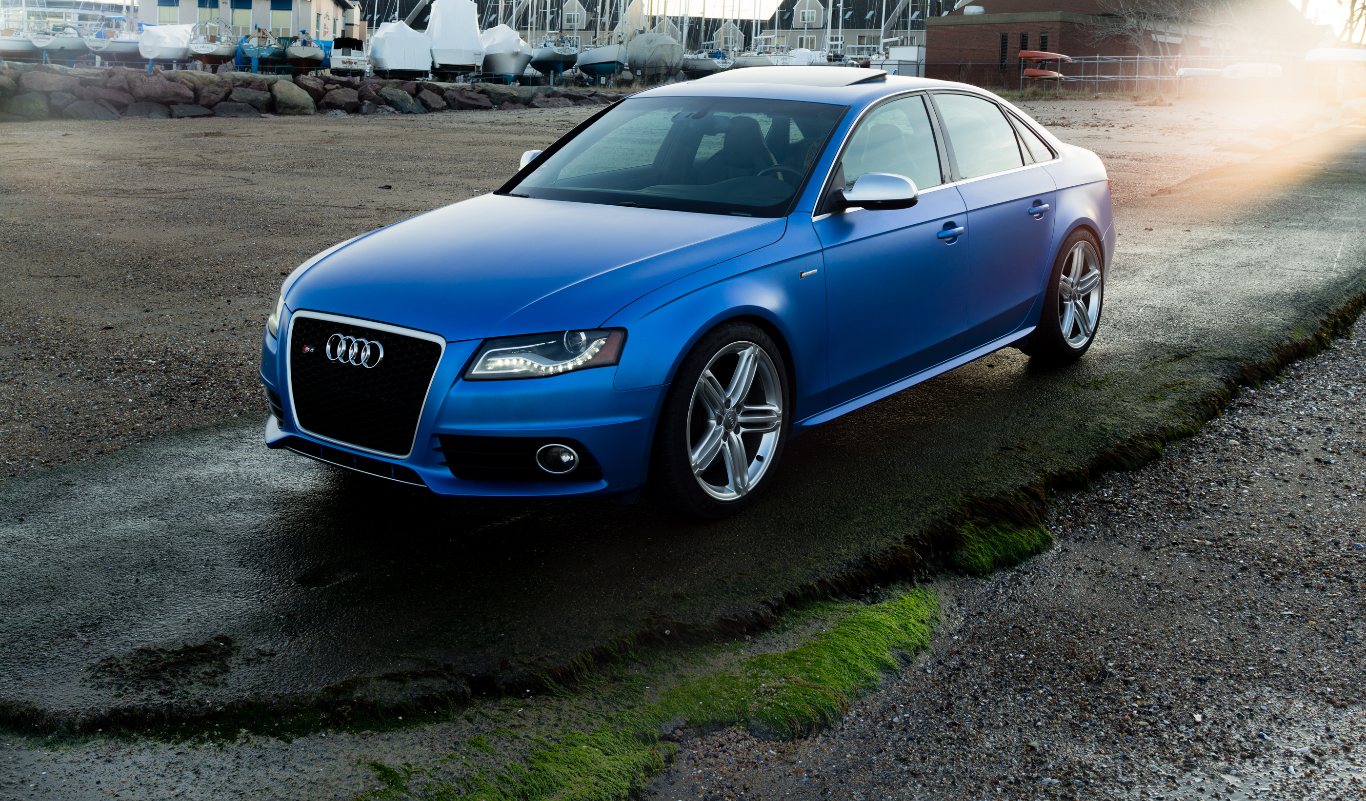 2011 Audi S4- Custom Pearl Blue