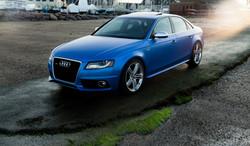 2011 Audi S4- Custom Pearl Blue