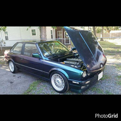 Instagram - S50 converted E30 sittin pretty 3 months after we liquid wrapped her