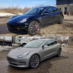 Tesla Model 3 in Space Grey