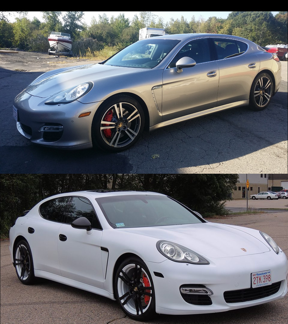Panamera Turbo Custom Two Tone